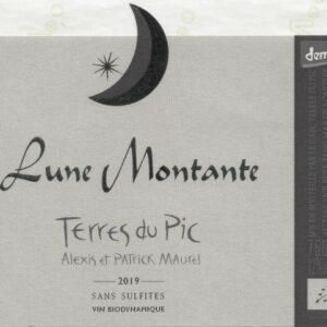 La cuvée Lune Montante 2019 du domaine Terres du Pic