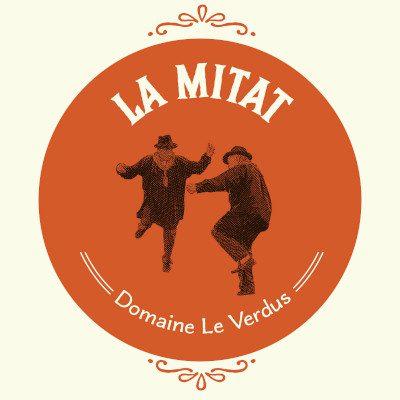 LA MITAT Rouge 2018 du domaine Le Verdus